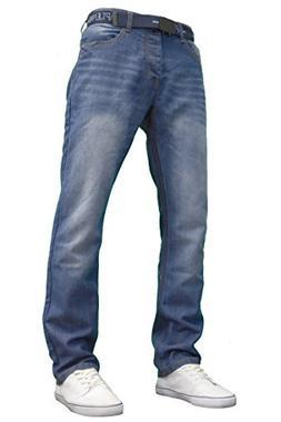 APT Mens Designer Basics Regular Fit Jeans