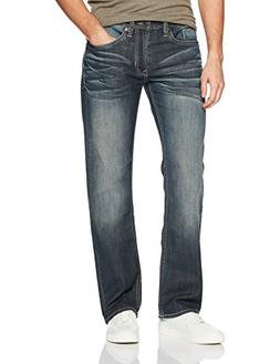 Buffalo David Bitton Men's Driven-x Relaxed Straight Fit Str