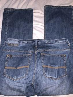 Buffalo David Bitton DRIVEN Relaxed Straight Jeans Men's S