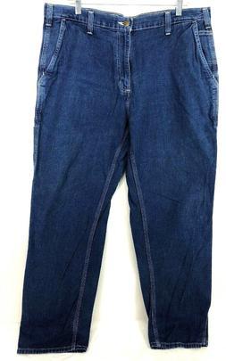 Carhartt Dungaree Fit Men's Sz 38 x 32 Carpenter Jeans New
