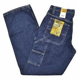 Lee Dungarees Carpenter Fit Mens Jeans Denim Jean Original S