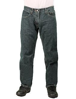 Lee Dungarees Men's Straight Fit Jean, Quartz , Size 42x30