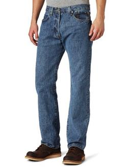 Levi's Men's 501 Original Fit Jean, Medium Stonewash, 32x32