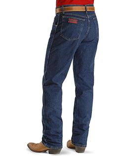 Wrangler Men's 20X Original Fit Jean,Stone Dark Denim,38x32