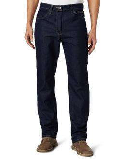 Lee Men's Fit Regular Straight Leg Jean, Indigo Stretch, 42W