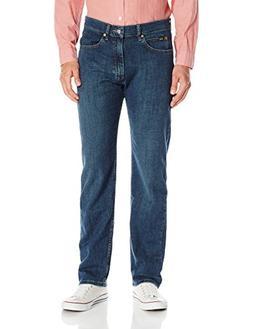 LEE Men's Fit Straight Leg Jean, Titanium, 36W x 29L