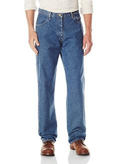 Bulwark Men's Flame-Resistant Relaxed-Fit Stone-Washed Jean,