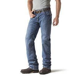 Ariat Men's Flame Resistant M3 Loose Fit Jean, Flint, 42x36