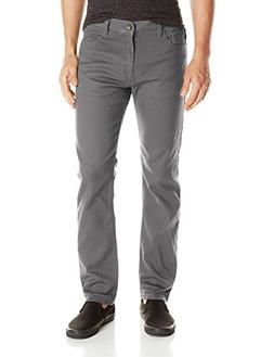 Southpole Men Jeans / Straight Fit Jeans Vernon, Dark Grey,
