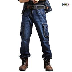 Idopy <font><b>Men</b></font>`s Casual Motorcycle Workwear M