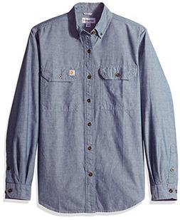 Carhartt Men's Fort Solid Long Sleeve Shirt