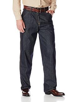 Cinch Men's FR Blue Label Carpenter Loose Fit Jean, Indigo,