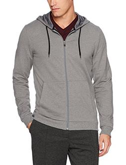 Calvin Klein Men's French Terry Color Block Hoodie, Medium G