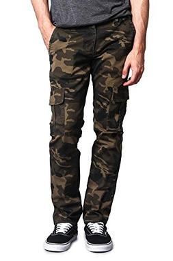 08c258ddb2cf9a Victorious G-Style USA Men's Camo Skinny Pants DL1029 - Carg