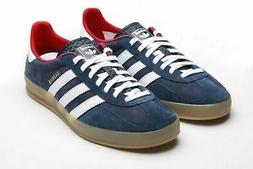 ADIDAS Gazzele Indoor Mens Shoes Team GB Suede Leather Jeans