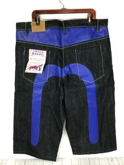 EVISU GENES Private Stock For Maniacs Denim Jeans Long Short