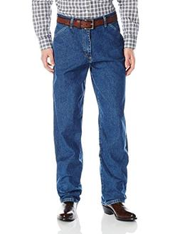 Genuine Wrangler Men's Carpenter Fit Jean,Stone Bleach,28X30