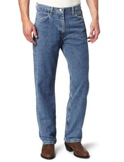 Wrangler Men's Genuine Loose Fit Jean, Crescent Moon, 36x32