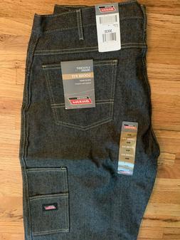 Genuine Dickies Multi Use Pocket Jeans Black 36x30 NWT