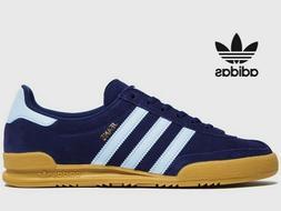 ⚫ 2020 Genuine Adidas Originals Jeans ®  Dark Blue Suede