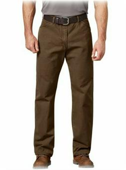 Genuine Dickies Pants 38x32 Men's Relaxed-Fit Dungaree Canva