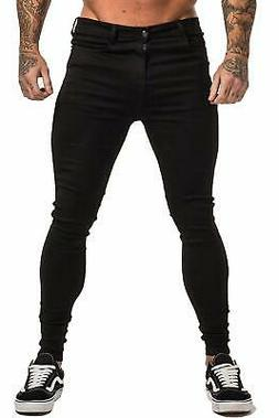 Gingtto Men's Ripped Jeans Slim Fit Skinny Stretch Jeans Pan