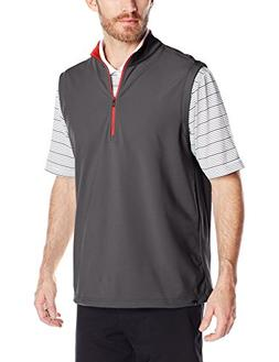 adidas Golf Men's Climacool Competition Vest, Black Heather/