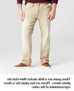 Goodfellow Big & Tall Mens Slim Straight Fit Jeans Dust Bowl