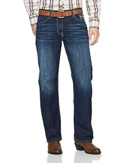 Cinch Men's Grant Relaxed Fit Jean, Performance Dark ash, 26