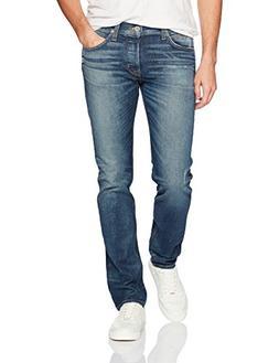 Hudson Jeans Men's Gray Agender Jeans, Fortune, 36