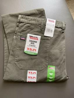 green work jeans mens regular fit flex