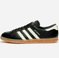 ADIDAS HAMBURG SHOES MENS BLACK LEATHER LIMITED JEANS CITY B