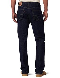TOPING Fine Fashion;Handsome Men's 505 Regular Fit Jean Rins