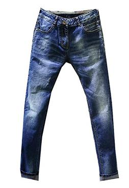 OnIn Handsome Mens Fashion Blue Denim Mens Pant Trousers Jea