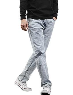 7656e3b27f4 Hat and Beyond HB Mens Jeans Casual Denim Slim Fit Stretch P