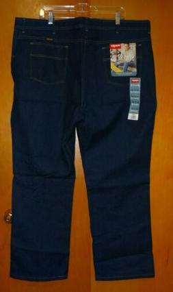 Wrangler Hero Jeans 46 x 30 Classic Flex-Fit Waist Stretch M
