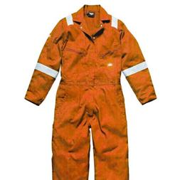 Dickies Mens Hi-Vis Stripe Workwear Coverall