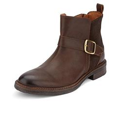 Lucky Brand Men's Hooper Ankle Boot, Brown Leather, 11 Mediu