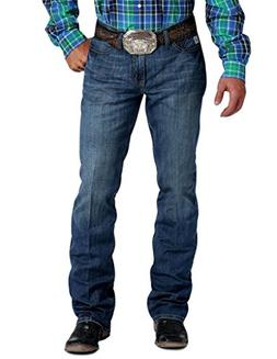 Cinch Men's Ian Slim Fit Jean, Performance Medium Stonewash