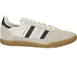 adidas Indoor Super Mens in Vintage White/Black/Silver, 8