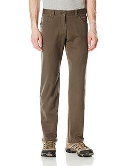 "prAna Men's 30"" Inseam Axiom Jeans, Size 34, Military Green"