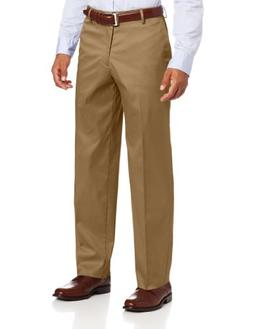 Dockers Men's New Iron Free Khaki D3 Classic Fit Flat Front