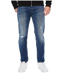 Mavi Jeans  Men's Jake Mid Ripped in Blue Blue 30W x 32L