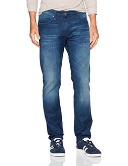 Mavi Men's Jake Regular-Rise Tapered Slim Fit Jeans,Dark Use