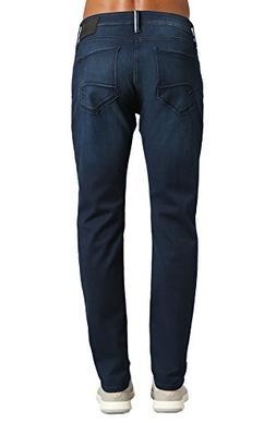 Mavi Men's Jake Regular-Rise Tapered Slim Fit Jeans,Ink Brus