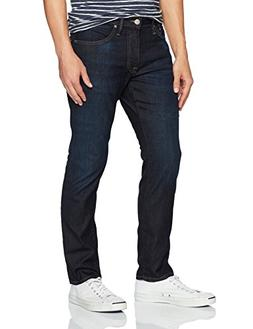 Mavi Men's Jake Regular-Rise Tapered Slim Fit Jeans,Rinse Br