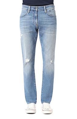 Mavi Men's Jake Regular-Rise Tapered Slim Fit Jeans, Lt Used