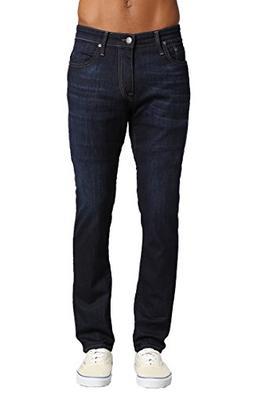 Mavi Men's Jake Regular-Rise Tapered Slim Fit Jeans, Rinse B