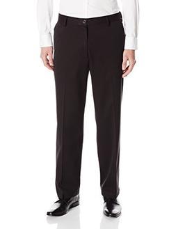 Dockers Men's Jean Cut D3 Classic Fit Flat Front Pant, Black