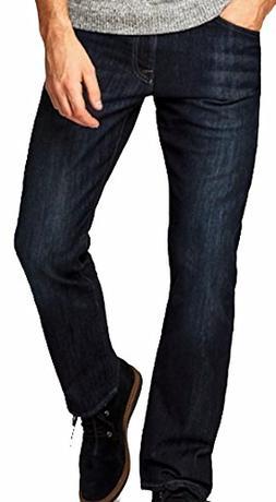 Mavi Men's Jean MATT Relaxed Straight Leg in DEEP Stanford J